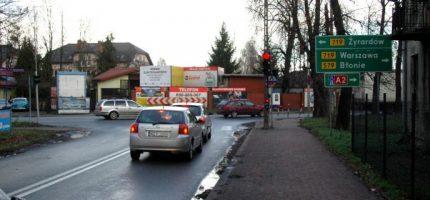 Kolejne podejście do przebudowy krzyżówki Chełmońskiego z Żyrardowską