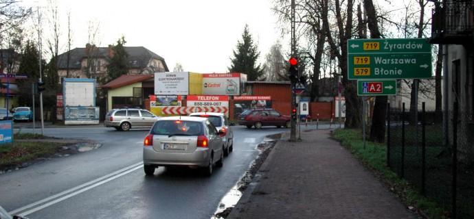 Sprawa przebudowy krzyżówki na Chełmońskiego komplikuje się