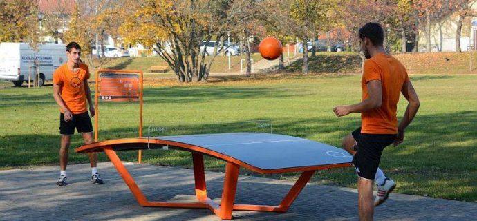 W Podkowie stanie stół do teqballa
