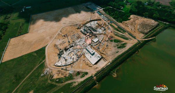 Rok od rozpoczęcia budowy parku wodnego. Co udało się zrobić, co przed nami? [FOTO]