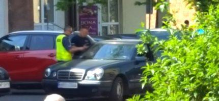 Mężczyzna podejrzany o kradzież zatrzymany