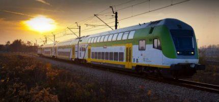 """Rekordowy pociąg """"Słoneczny"""""""