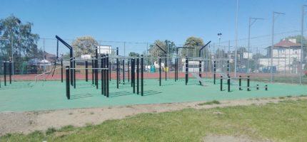 Grodzisk: Siłownia i street workout na Stawach już dostępne