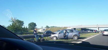 Wypadek na A2. Trzy osoby ranne [AKTUALIZACJA]