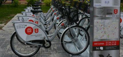 """W """"Dzień bez samochodu"""" przesiądź się na rower miejski"""