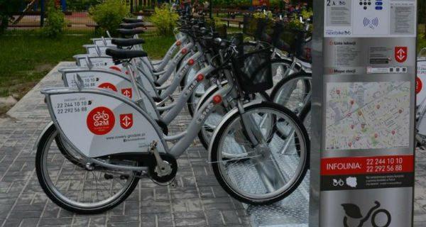 Grodziski Rower Miejski w czołówce rankingu wypożyczalni