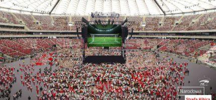 Będzie Narodowa Strefa Kibica. Mecze Polaków obejrzy po 70 tys. osób