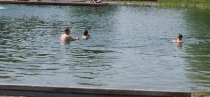 Zachowaj ostrożność nad wodą