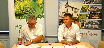 Umowa na tereny zielone podpisana