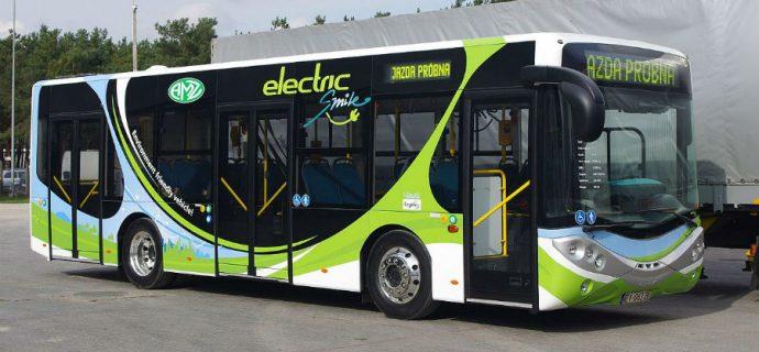 Elektryczne autobusy na grodziskach trasach dopiero w przyszłym roku