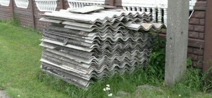 Usunęli przeszło 100 ton azbestu