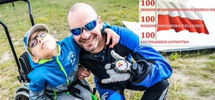 100 skoków spadochronowych na zakup 100 wózków inwalidzkich. Włącz się do akcji!