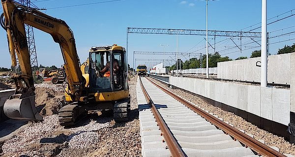 Linia 447: Prace na ostatniej prostej