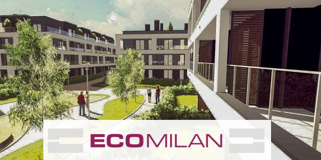 Nowoczesne mieszkania w Milanówku pod Warszawą, na osiedlu EcoMilan.