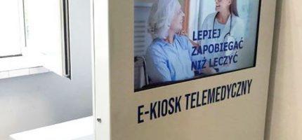 Kioski telemedyczne w grodziskim szpitalu i w Żabiej Woli