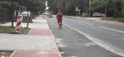 Kolejne ścieżki rowerowe będą gotowe we wrześniu