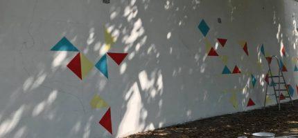 Mural Niepodległości już powstaje [FOTO]