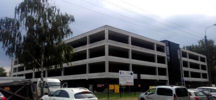 Jak idzie budowa parkingu wielopoziomowego? [FOTO]