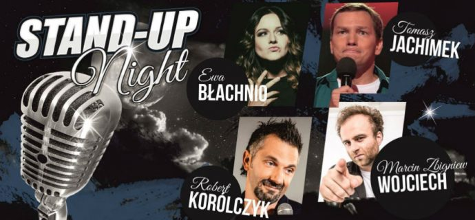 Bilety na grodziską Stand-up Night rozdane