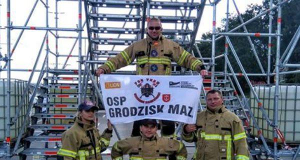 Nasi strażacy w gronie najtwardszych