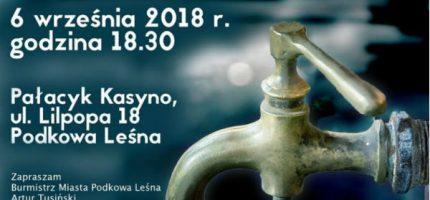 Podkowa chce płacić mniej za wodę i ścieki. Wody Polskie mówią: nie