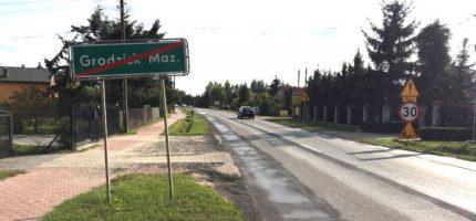 Benedykciński: Koniec z tranzytem przez Grodzisk podczas remontu drogi 579