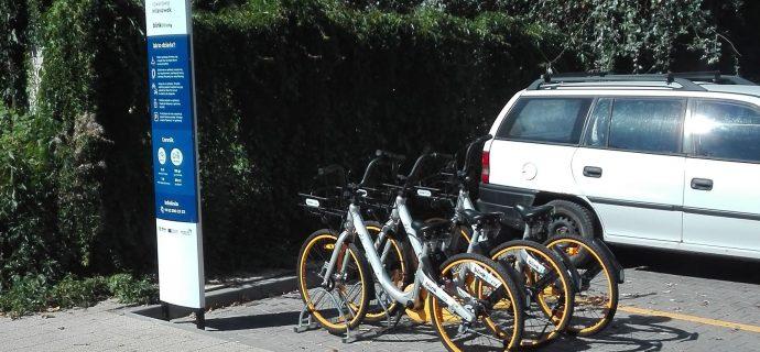 Nowe stacje Milanowskiego Roweru Miejskiego