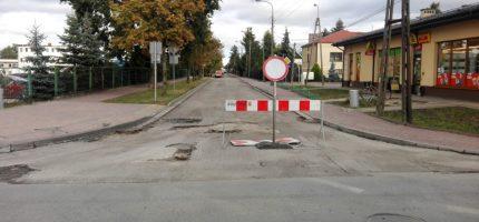 Remont grodziskich ulic. Utrudnienia dla kierowców