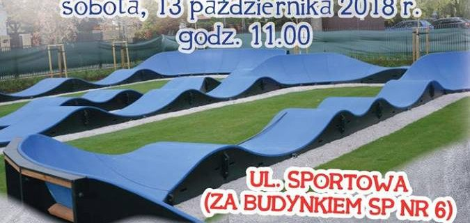 W Grodzisku otworzą najdłuższy pumptrack w Polsce