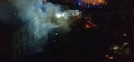 Nocny pożar na Sienkiewicza. Ewakuowano 26 osób