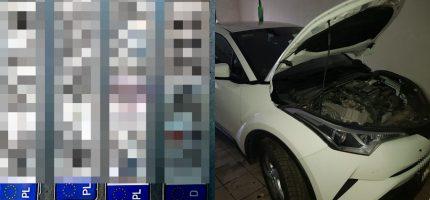 """Policjanci zlikwidowali """"dziuplę"""" samochodową [FOTO]"""