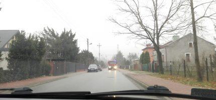 Popołudniowy pożar w Grodzisku