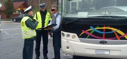 Skontrolują autokary wyjeżdżające na ferie