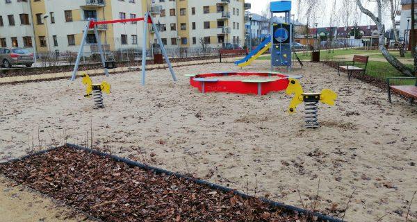 Park i plac zabaw na Jaśminowej wymagają poprawek?