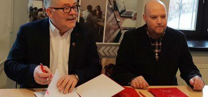 Podpisali umowę na projekty grodziskich dróg