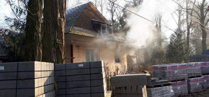Pożary w Henryszewie i Podkowie