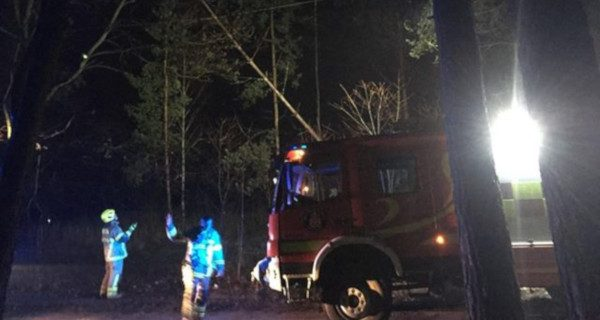 Pożar transformatora w Janinowie. Okoliczni mieszkańcy bez prądu