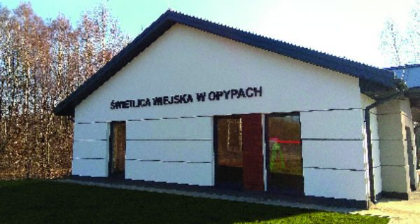 Czas na otwarcie świetlicy w Opypach