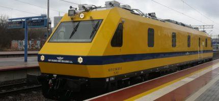 Mobilne laboratorium kolejowe sprawdzi stan torów