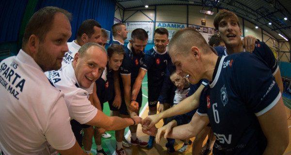 Grodziscy siatkarze powalczą o awans do drugiej ligi