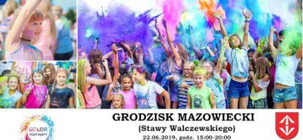 Festiwal Kolorów wraca do Grodziska. W czerwcu na Stawach Walczewskiego