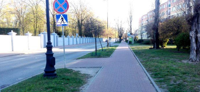 Będzie ścieżka rowerowa na Montwiłła