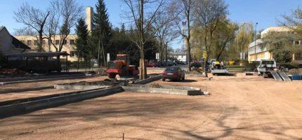 Ruszyła budowa parkingu przy ul. Kierlańczyków [FOTO]