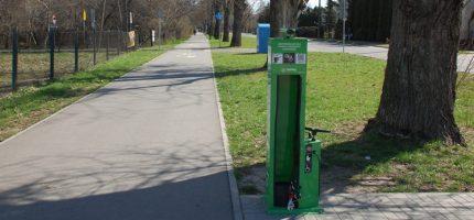 7 nowych stacji napraw dla rowerów w regionie
