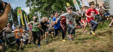 Błoto, przeszkody i zabawa, czyli Runmageddon dla dzieci
