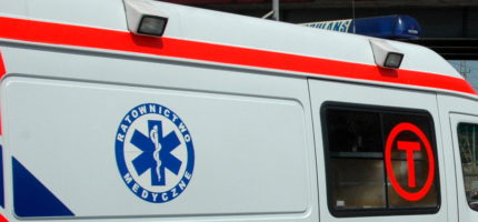 Wypadek w Jaktorowie. Jedna osoba w szpitalu