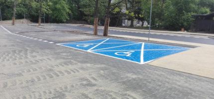 Nowy parking prawie gotowy