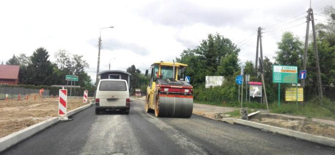 Jak idzie przebudowa drogi 579? Nie bez przeszkód [FOTO]