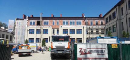 Rozbudowa szkoły w toku