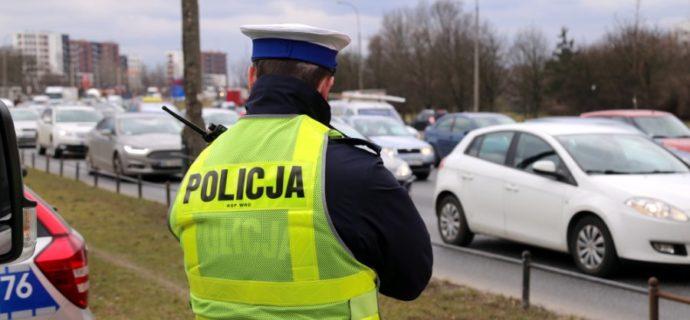 Jedź ostrożnie, dziś wzmożone kontrole na grodziskich drogach